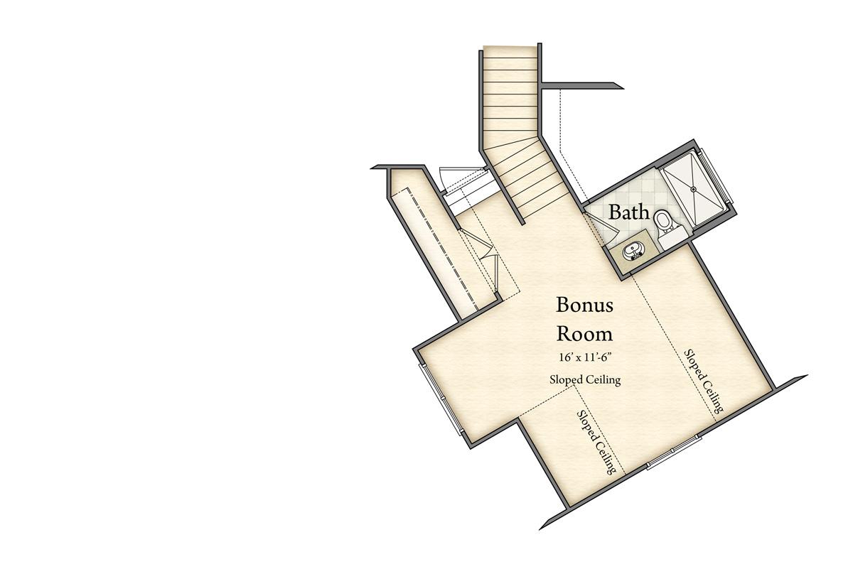 Lancaster Model Floor Plan Floor 2