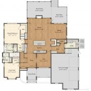 Arlington Floor Plan - First Floor